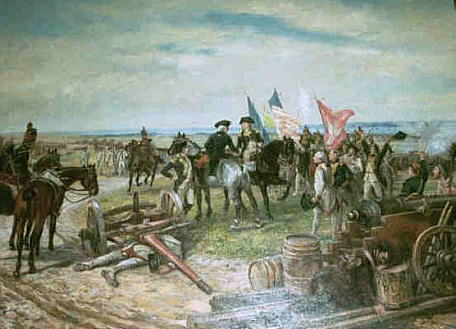 Yorktown Battlefield, A Site on a Revolutionary War Road Trip onyork town