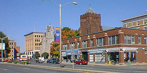 Historic Pittsfield Massachusetts A Site On A
